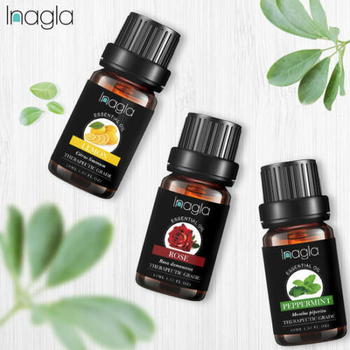 Natural 10ml Essential Oils 100% Pure Aromatherapy Essential Oil Fragrance Aroma 4