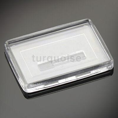1x Premium Quality Clear Acrylic Blank Photo Fridge Magnets 50 x 35 mm 2