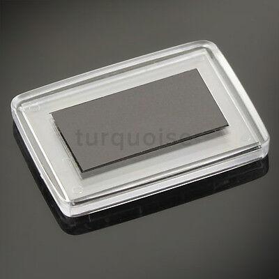 1x Premium Quality Clear Acrylic Blank Photo Fridge Magnets 50 x 35 mm 3