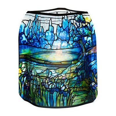 Claude Monet Water Lilies #2 Modgy Lumizu Collapsible 4pc Luminary Lantern Set