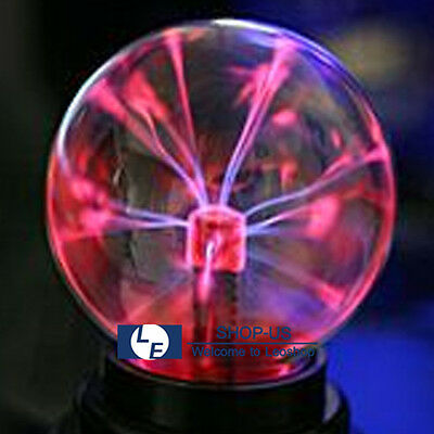 1 Of 4FREE Shipping New USB Magic Crystal Globe Desktop Light Lightning Lamp  Plasma Ball Sphere