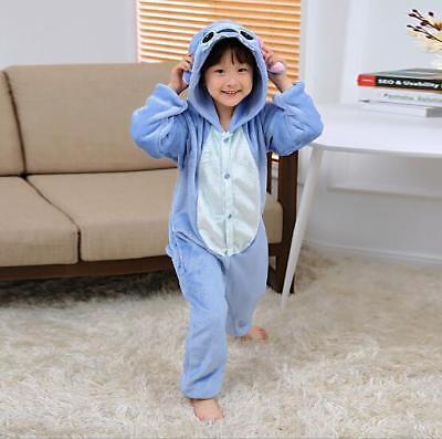 Kigurumi Pijama Unisex Ropa de noche vestido Cosplay Animal Onesie Stitch 5