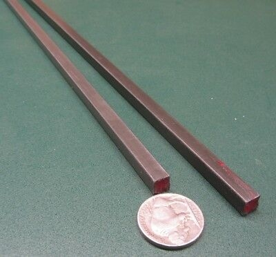 """Square W1 Tool Steel Bar  1/4"""" Thick x 1/4"""" Wide x 36"""" Length, 2 Pieces 5"""