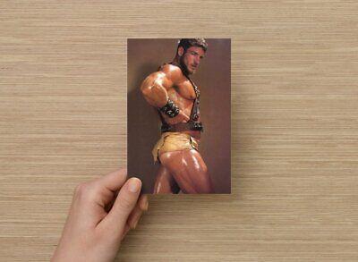 POSTCARD Print / Rick Wolfmier gladiator / Gay Interest 2