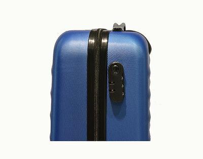 Maleta Pequeña De 4 Ruedas Rombo Azul Equipaje De Cabina O Mano Trolley Viaje 3