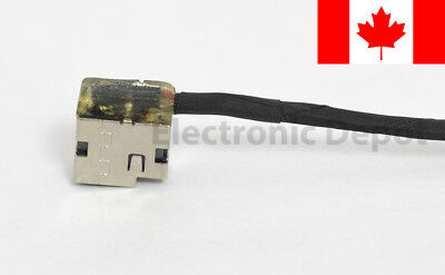 New HP 15-AB 15-AN 15-AK 15-BS DC Jack Cable 799749-F17 799749-S17 799749-Y17 2