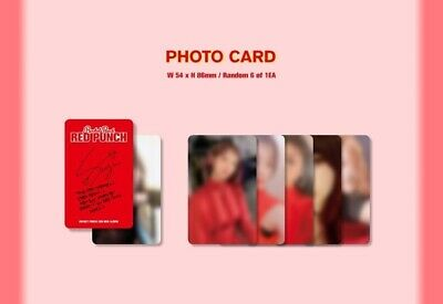 ROCKET PUNCH 2nd Mini Album [RED PUNCH] CD+Booklet+Bookmark+Sticker+Photocard 9