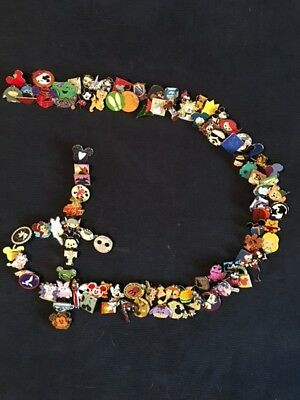 Disney Trading Pin Lot Of 50 -100% Tradable - No Duplicates - Fast U.s. Shipper
