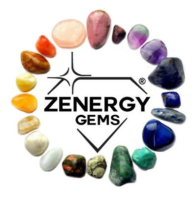 "Perfect Pendant™ - Lapis Lazuli Teardrop Pendant + 20"" Chain: ZENERGY GEMS™ 8"