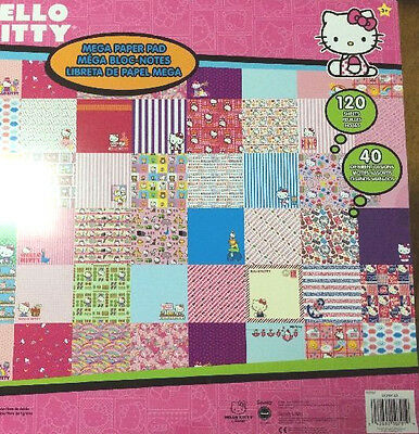 DISNEY Scrapbook Pad Hello Kitty MARVEL Comic Cars Pooh Toy Story PIXAR Mickey