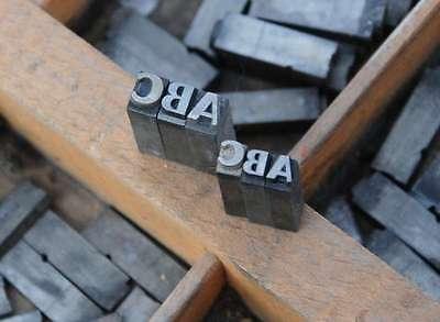 CHAMBORD 16°+20° Bleischrift im Setzkasten Bleisatz Handsatz Schrift Alphabet 2