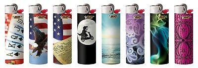 BIC Full Size Limited Special Edition Disposable Lighters Assorted Styles 7