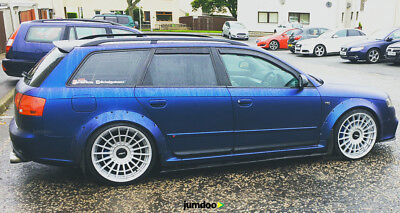 Audi A4 S4 Fender Flares Concave Wide Body Kit Wheel Arches 70mm