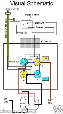 warn xd9000i winch solenoid wiring diagram  warn winch remote wiring on  warn m12000,