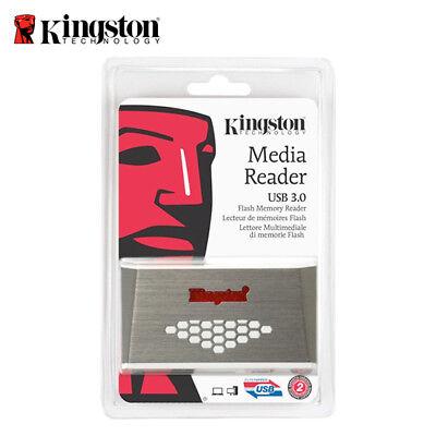 Kingston Multi Media Card Reader / Writer FCR-HS4 USB 3.0 micro SD / SD Card 2