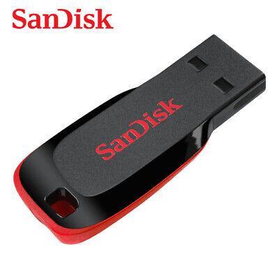 SanDisk 8GB 16GB 32GB 64GB Cruzer Blade USB 2.0 USB Flash Drive SDCZ50 2