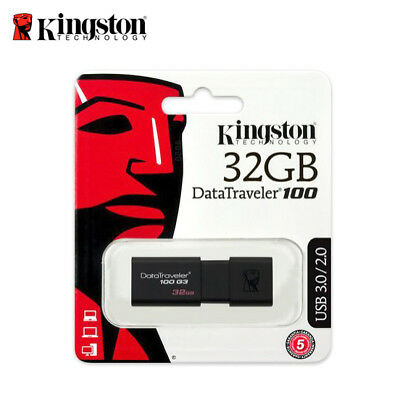 Kingston DT100G3 8GB 16GB 32GB 64GB Data Traveler 100 G3 USB 3.0 Flash Pen Drive 4