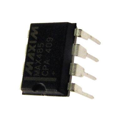 MAX485CPA 5V  DIP8   NEW  #BP MAXIM  RS485//422 Transc 5 pcs