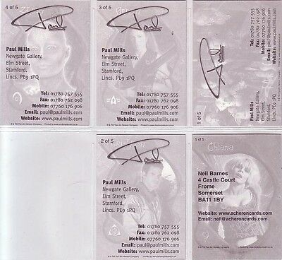 "5 Card /""Dealer Promo/"" Set Farscape Promo//Preview Set"