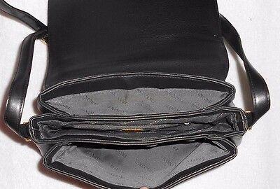 FRANCINEL sac cuir sur main à 3 compartiments TBE 9 3 noir YtqExwqa