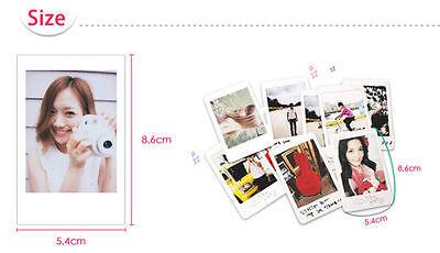 Fujifilm Instax Mini Film Fuji instant photos 7s 8 90 25 50 SP-1 Polaroid 300 3