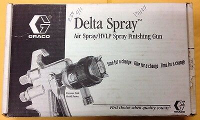 "Graco 239541 Delta Spray Air Spray/HVLP Spray Finishing Gun  0.042""Orifice 10"
