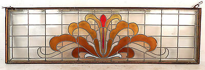 Large Vintage Stained Glass Window (1512)NJ 3