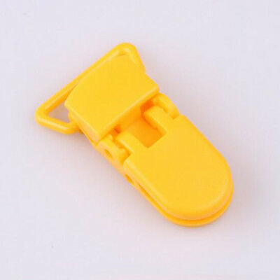 10Pcs Baby Safe Dummy Plastic Pacifier Clip Holder Soother Pacifier Chain Making 11
