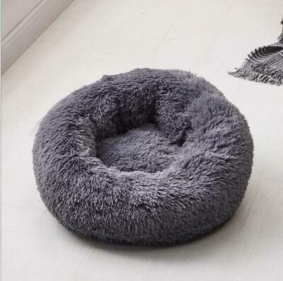 Hundebett Katzebett Haustier Hund Nest Kissen Weiches Waschbar Flauschige Plüsch 10