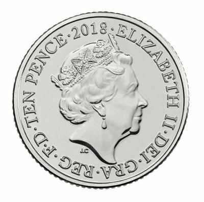 A-Z  Alphabet 10p coin Ten Pence 2018 Coins Set Royal Mint Angel Bond Stonehenge 4