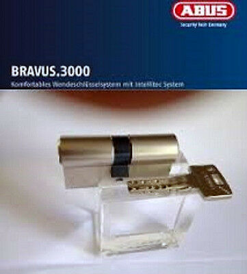 ABUS Bravus2000 Sicherheits-Schließzylinder Doppelzylinder 45//55mm Individual