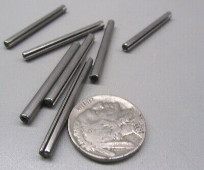 """18-8 Stainless Steel, Slotted Roll Spring Pin, 1/8"""" Dia x 1 1/2"""" Length, 100 pcs 7"""