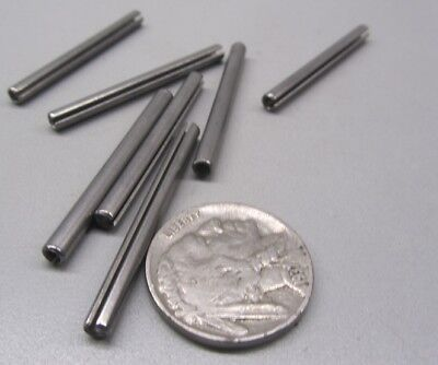 """420 Stainless Steel, Slotted Roll Spring Pin, 1/8"""" Dia x 1 1/2"""" Length, 100 pcs 8"""