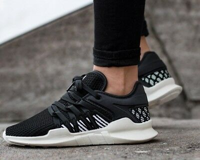 more photos b5ca0 e830f ADIDAS EQT RACING Adv BY9798 women's Running training Shoes Black White