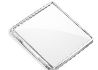 Transparent Blank Acrylic Photo Picture Frame Fridge Magnet DIY Personalised UK 2