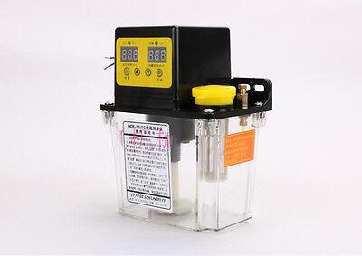 1.8L 110V Electric LCD Display Automatic Lubrication Oil CNC Pump 4mm 1.0Mpa USA