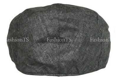 33d66577b6f 4 of 5 Men s Linen Flat Gatsby Newsboy Ivy Hat Spring Summer Golf Hat  Cabbie Fashion