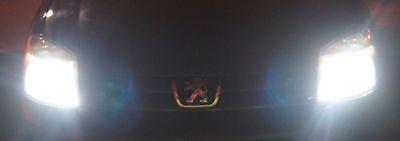 VOLVO V70 2002-ON 2 xH7 WHITE CREE LED SMD 30W CANBUS BULBS LIGHT+501