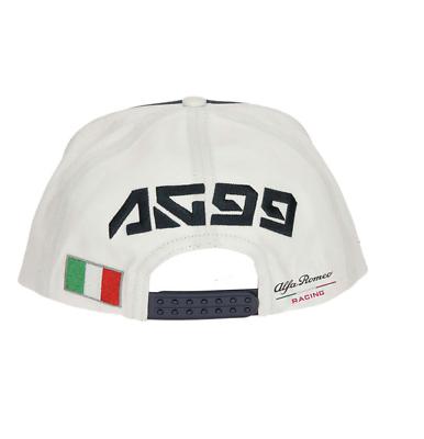 Alfa Romeo Racing Official Kid's Giovinazzi Flatbrim Cap - 2019 2