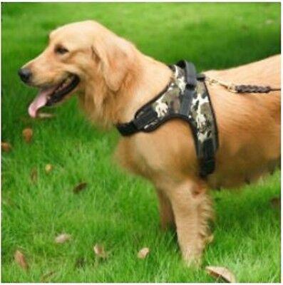 No Pull Adjustable Dog Pet Vest Harness Quality Nylon Small Medium Large XL XXL 10