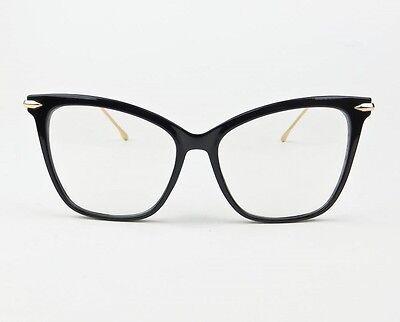 new large cat eye metal big fearless fashion frames clear women eyeglasses 30177 3