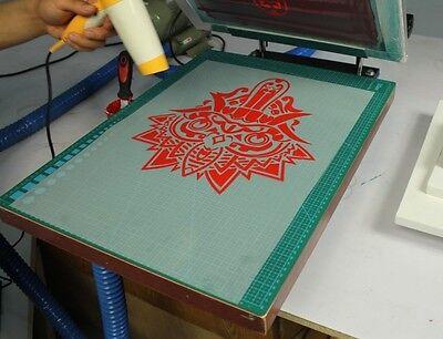10 SHEETS INKJET Cold/Hot Peel Plastisol Heat Transfer Film Heat Iron  Printing