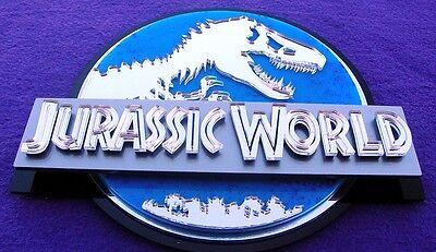 JURASSIC PARK 3D ART sign new  Fossil Dinosaur clean version movie  Dino 12 inch 9