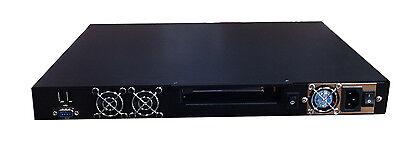 1U 48.3cm Rackmount FIREWALL Netzwerk Sicherheit barebone. mit 4, 8 or 12 LAN