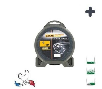 Fil Nylon Pro Helicoidale Debroussailleuse Twisted Power Tres Solide Silencieux 2