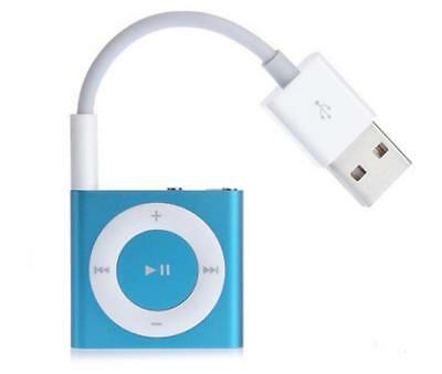USB Data Sync Charger Cable Adapter 3.5mm for Apple iPod Shuffle 3/4/5/6/7 3