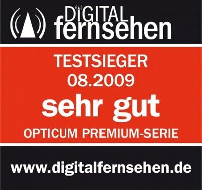 "QUAD LNB 0,1dB ""TESTSIEGER"" Opticum DIGITAL Quattro Switch 4 Teilnehmer 4K UHD"