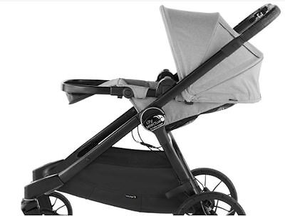 Baby Jogger City Select Lux Stroller Taupe W Bassinet Kit Pram System Travel New
