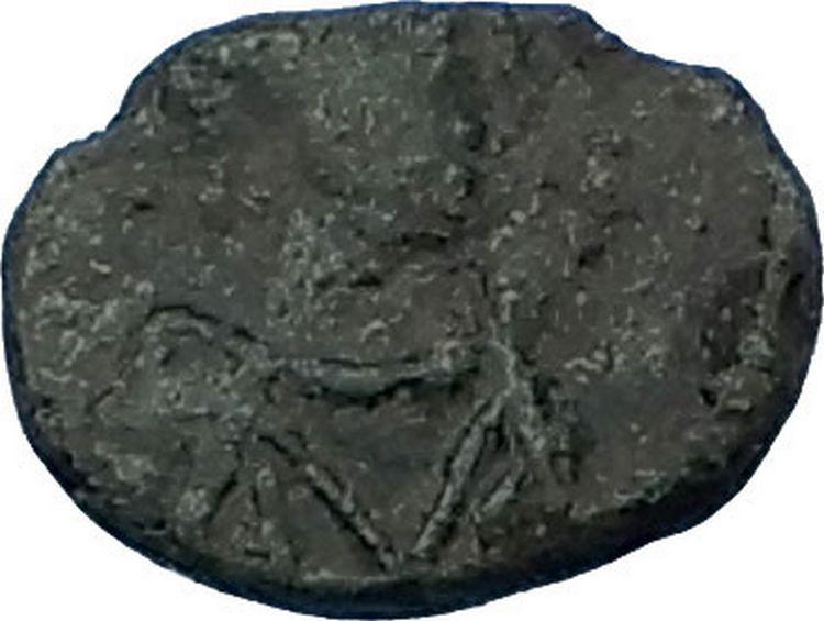 ANASTASIUS 491AD Constantinople Authentic Ancient Roman Coin MONOGRAM i65772 2