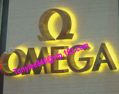 outdoor sign,channel letter with waterproof led.customs size accept.12 inches 4